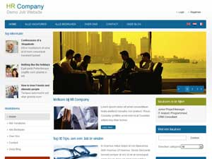 HR Company - Demo Job Website